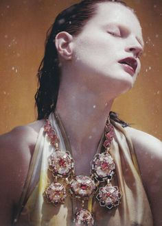 Guinevere van Seenus by Jeff Burton for Numéro #114