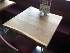 Gastro Tischplatten Einzelstuecke Restaurant, Table, Furniture, Home Decor, Fine Dining, Industrial Design, Cottage Chic, Rustic, Oak Tree