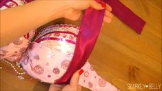How to add more coverage to your belly dance bra – Part 2: Sides of the cups by guest blogger Mao | Belly Dance at Any Size