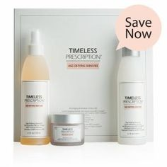 Timeless Prescription® Anti-Aging Essentials 3 Piece Kit from Market America at SHOP.COM