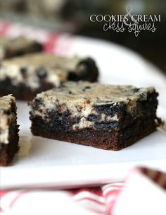 Cookies and Cream Chess Squares