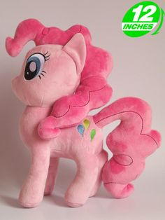 My Little Pony Ponypassions Pinkie Pie Plush Doll POPL9001 Her balloons are wrong, but still cute :3