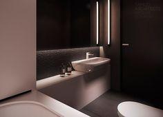 bathroom minimal / Flat interior design, warsaw | TAMIZO ARCHITECTS