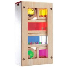 Rainbow sound blocks for kids encourages sensory play. Buy this wooden sound blocks sets online, including 6 wooden blocks packed in a wooden storage box. Cloud Server, Rainbow Blocks, Block Play, Wooden Rainbow, Wooden Baby Toys, Eco Friendly Toys, Montessori Toys, Wooden Blocks, Toys Shop