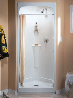 32 inch shower stall from fiberglass