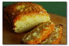 Orange Juice Bread--just made this and it is so simple, so good and super moist! Next time I will line my pan with parchment paper as it does tend to stick--even without glazing.