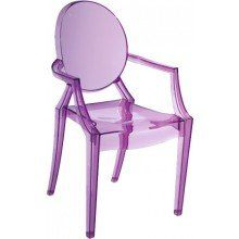 Baby Anime Chair in Transparent Purple