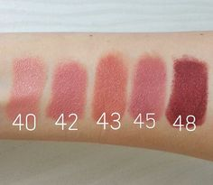 Rimmel London Kate Moss Nude Series Lipsticks and Lips Postures - Nihanla Makeup »Everything About Makyaja