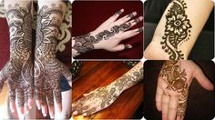 Impressive!! Arabic Short Mehndi Designs To Try Anytime