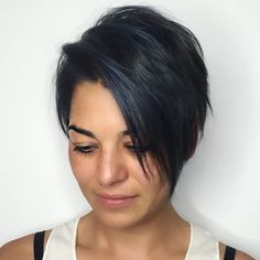 Black+Layered+Pixie+Bob