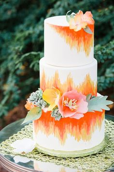 Southwestern Boho Styled Shoot with Pretty Pops of Color Naked Wedding Cake, Wedding Cakes, Cake Pops, Bohemian Cake, Wedding Cake Inspiration, Wedding Ideas, Boho Wedding, Summer Wedding, Dream Wedding
