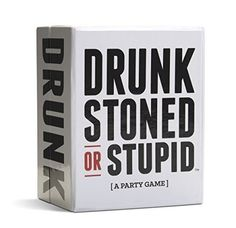 DRUNK STONED OR STUPID [A Party Game] [US]…