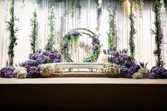 Wedding Backdrop Ceremony Candles Receptions 53 Ideas For 2019 Wedding Reception Backdrop, Wedding Stage Decorations, Backdrop Decorations, Wedding Themes, Backdrops, Wedding Ideas, Trendy Wedding, Wedding Planning, Malay Wedding