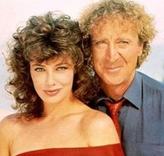 Kelly with Gene Wilder, The Woman In Red.