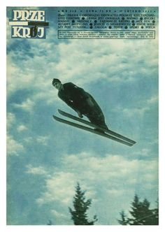 Cover of Przekrój magazine. Issue dated February 17, 1952.