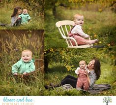 Outdoor little girl photography - natural light - Bloom and Bee Portraits, Albany NY