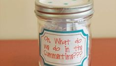 Summer Jar List 2012