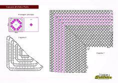 REGINA RECEITAS DE CROCHE E AFINS: receitas de tapetes barbantes coloridos,clique nas receitas para ter maior visualização.ok.
