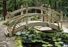 Decora Interi : Paisagismo com pontes: Jardins com pontes