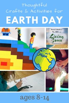 A List of meaningful Earth Day activities and crafts for ages Earth Day Activities for Kids Earth Day Activities, Camping Activities, Indoor Activities, Educational Activities, Learning Activities, Activities For Kids, Activity Ideas, Preschool Ideas, Teaching Ideas