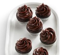 Mini Chocolate Ganache Cupcakes Recipe : Food Network Kitchen : Food Network - FoodNetwork.com
