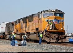 RailPictures.Net Photo: UP 4854 Union Pacific EMD SD70M at Roseville, California by Jake Miille