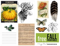 Free Fall Printable from Maggie Holmes