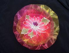 Hot Pink Yarmulke, Bat Mitzvah Kippah by VintageBloomsByEllen