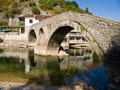 Bridge at Rijeka Crnojevica, Montenegro