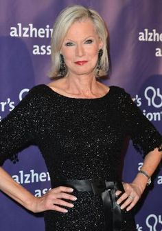 See photos of amazing gray hair on celebrities and regular people. Short gray hair, long gray hair, the: Laurie Burroughs