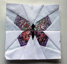 Paper Peicing Patterns, Free Paper Piecing Patterns, Kaleidoscope Quilt, Butterfly Quilt, Butterfly Art, Foundation Paper Piecing, Tatting Patterns, English Paper Piecing, Mini Quilts