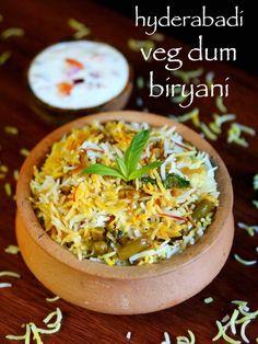 Veg Handi Dum Biryani In Hindi :- Indian Recipe. Healthy Food Recipes, Veg Recipes, Curry Recipes, Indian Food Recipes, Chicken Recipes, Cooking Recipes, Aloo Recipes, Arabic Recipes, Savoury Recipes