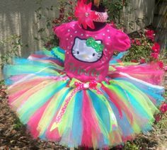I so have to make this for ryleigh, too cute! Cute little girls Hello Kitty…