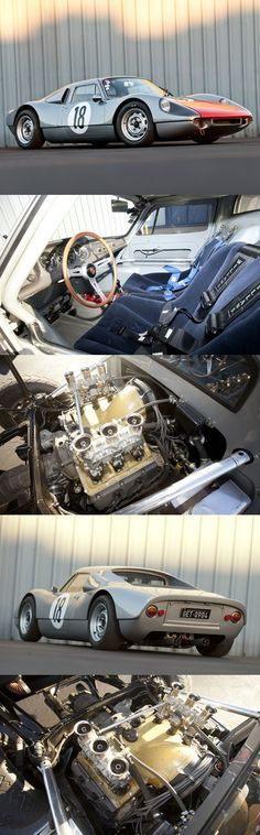 1963 Porsche 904/6 Carrera GTS, LG JJ