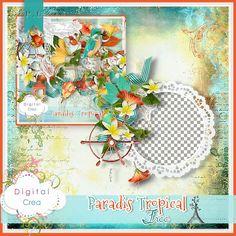 Paradis Tropical FREE (PU) by Florju Designs