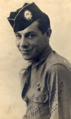"""Eugene Roe (1921-1998) """"He was there when he was needed and how he got 'there' you often wondered. He never received recognition for his bravery, his heroic servicing of the wounded."""" Lt. Foley talking about Doc Roe, p. 181, Band of Brothers, by Stephen Ambrose ~"""