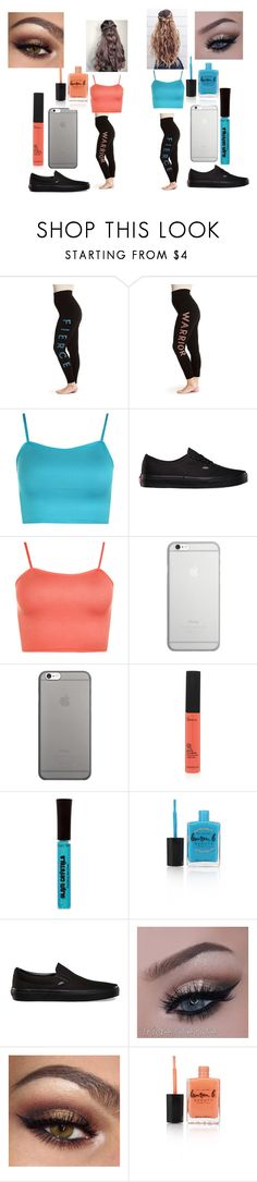 """""""Zoe- Fierce Asia- Warrior"""" by asia-ptv-sws-bvb ❤ liked on Polyvore featuring One 5 One, WearAll, Vans, Native Union, Lauren B. Beauty and plus size clothing"""