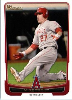 2012 Bowman  34 Mike Trout - Angels (Baseball Cards) by Bowman.  1.99 4a802ac33