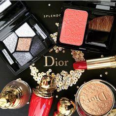 make up dior natale 2016 Dior Makeup, Makeup Geek, Makeup Addict, Makeup Hacks, Makeup Ideas, Eye Makeup, Dior Beauty, Luxury Beauty, Cosmetics & Perfume