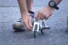 Is this the smallest cycle ever to be ridden?