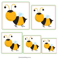 Bee Activities, Preschool Activities, Special Education Behavior, Sequencing Cards, Fourth Grade Math, Bug Crafts, Bee Theme, Tot School, Preschool Math