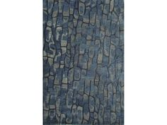Jaipur Rugs Jaipur Hand-Tufted Abstract Pattern Blue Wool Area Rug NTP08