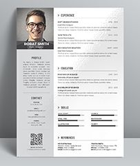 Professional Resume WordIndesign Template Elegant Page Designs