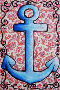 #anchor #art of Elena Mirandola