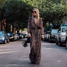 Blogger Christie Ferrari makes a bold statement in our Madeline Dress from the Eva Mendes Collection.