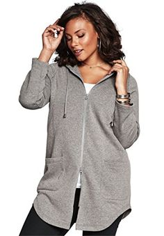 Roamans Women's Plus Size Lightweight Fleece Jacket Mediu... https://www.amazon.com/dp/B01FPMVDG2/ref=cm_sw_r_pi_dp_U_x_YWrIAb8HN8R2R