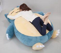 How and Where to Buy Snorlax Pillow (Kabigon Cushion)?