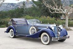 1938 Horch 853 Convertible