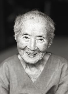 100 years old japanese lady by shoichi ono