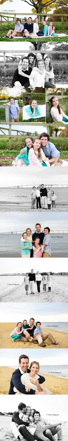 Family of 5. Family with older children. Older siblings. Family photography. Beach photography   M Rose Photography